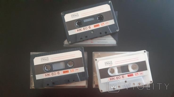 Касети Свема МК-60-6 (Release year: 1992-93). Нові.