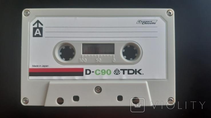 Касета TDK D-C90 (Release year: 1972-77), фото №4