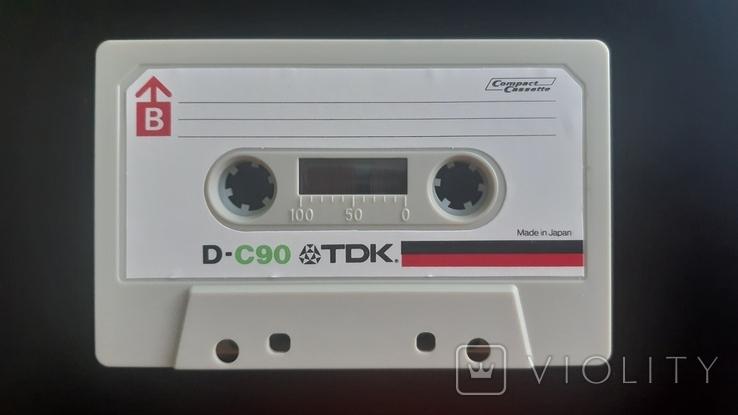 Касета TDK D-C90 (Release year: 1972-77), фото №5