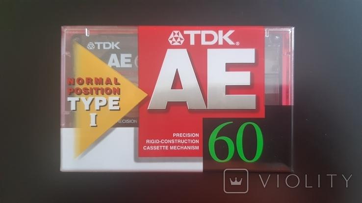 Касета TDK AE 60 (Release year: 1998), фото №2