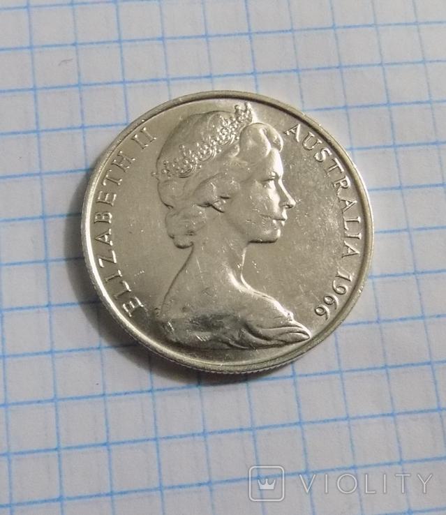 50 центов 1966 г. Австралия, фото №2