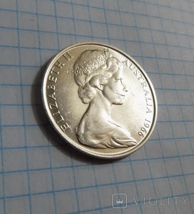 50 центов 1966 г. Австралия, фото №3