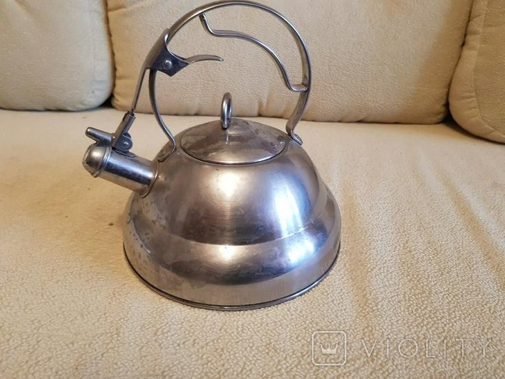 Чайник из нержавейки Vinzer, фото №5