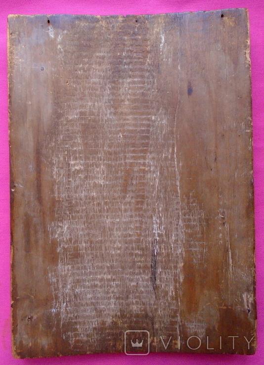 Икона Покрова. Размеры 30 см на 21 см., фото №7