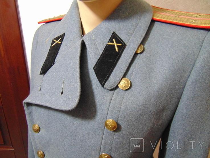 Шинель артиллериста СССР 1955 год, фото №4