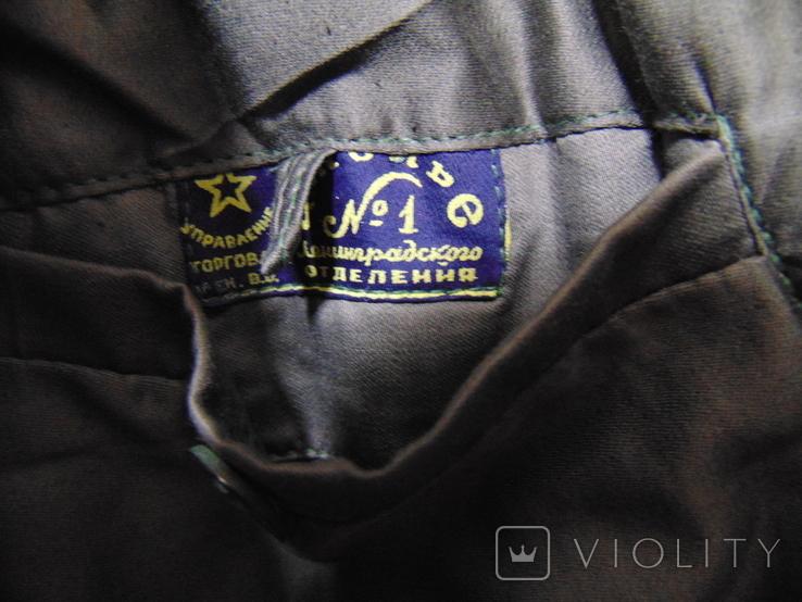 Шинель артиллериста СССР 1955 год, фото №7