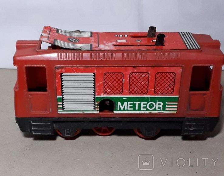Заводной Тепловоз METEOR из СССР, фото №2