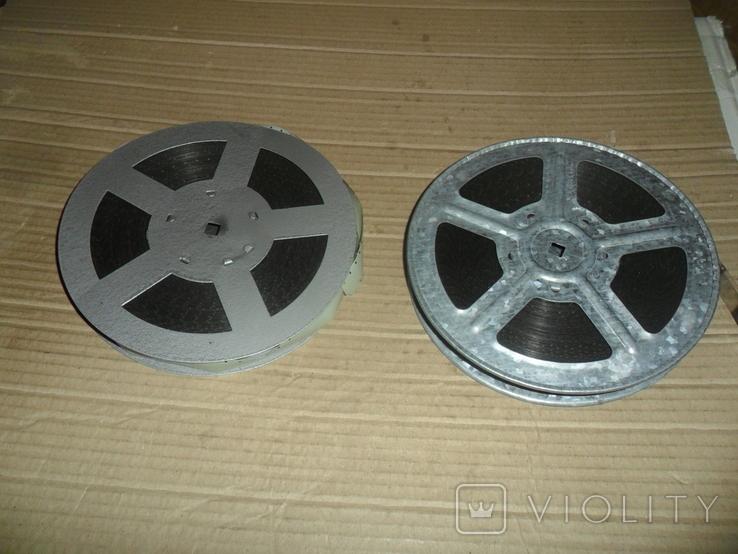 Кинопленка 16 мм 2 шт Культурное строительство в СССР 1 и 2 части, фото №2