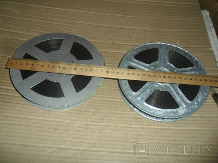 Кинопленка 16 мм 2 шт Культурное строительство в СССР 1 и 2 части, фото №3