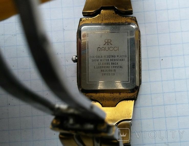 Наручные кварцевые часы Raucci., фото №7