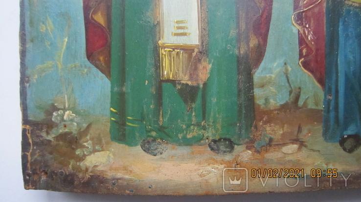 Святой хрс Николай и Святая муч. Варвара, фото №8