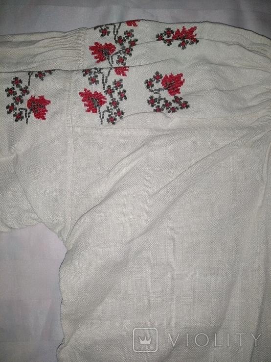 Сорочка вышиванка Полтавщина., фото №6