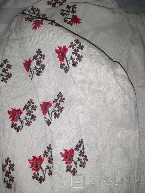 Сорочка вышиванка Полтавщина., фото №7