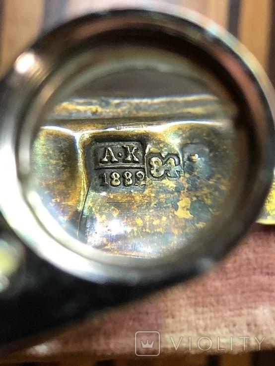 Икона в серебрянном окладе, фото №11
