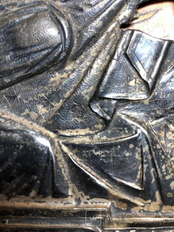 Икона в серебрянном окладе, фото №13