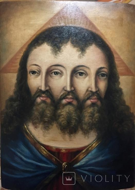 Икона Спас Триединый, фото №3