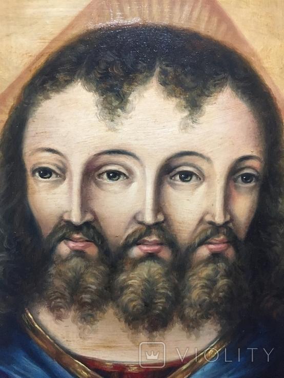 Икона Спас Триединый, фото №4
