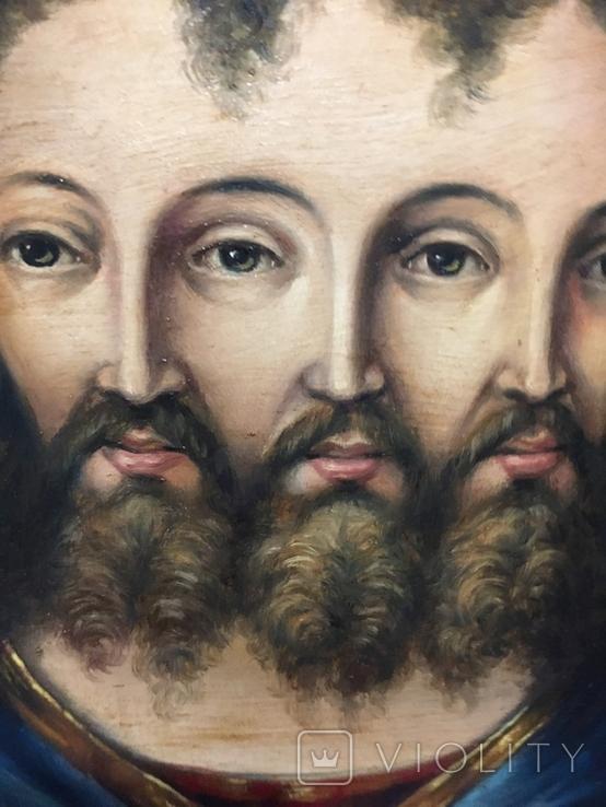 Икона Спас Триединый, фото №5