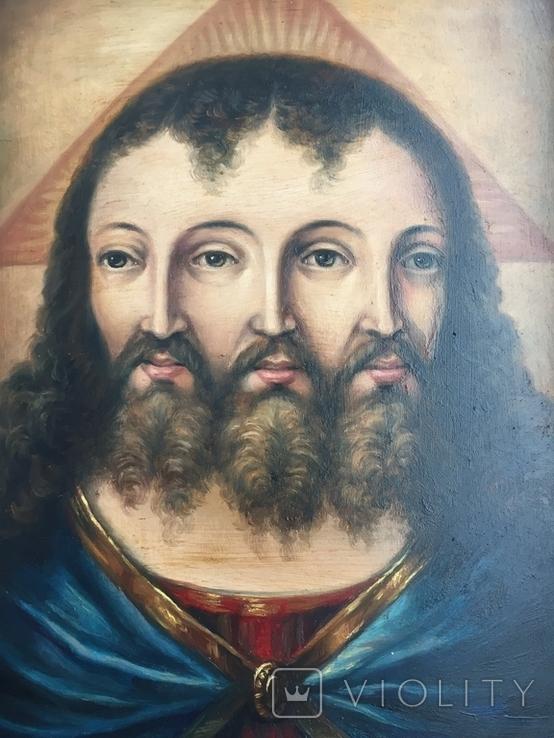 Икона Спас Триединый, фото №2