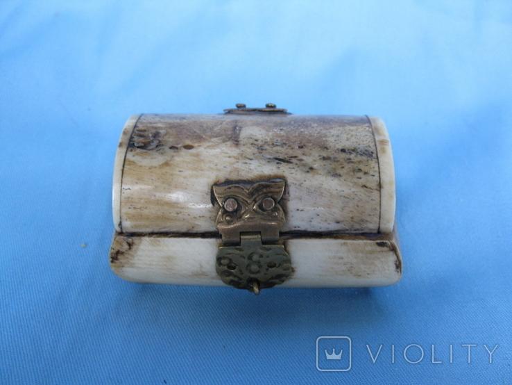 Шкатулка кость, фото №2