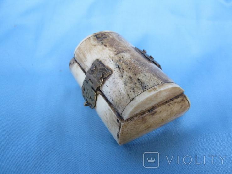 Шкатулка кость, фото №5