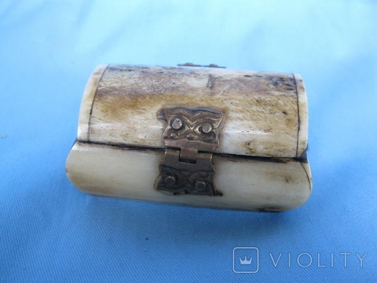 Шкатулка кость, фото №6