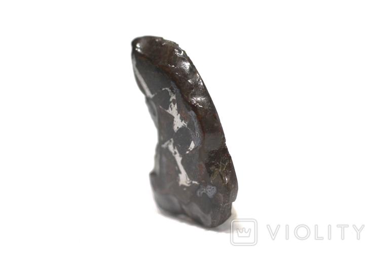 Залізо-кам'яний метеорит Brahin, 3,4 грами, сертифікат автентичності, фото №9
