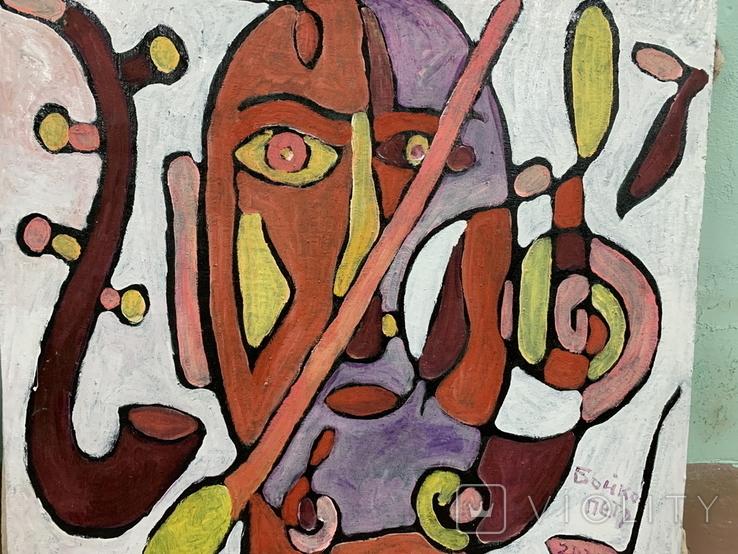 Творча людина, 73х69см, авт.П.Бойко, фото №3