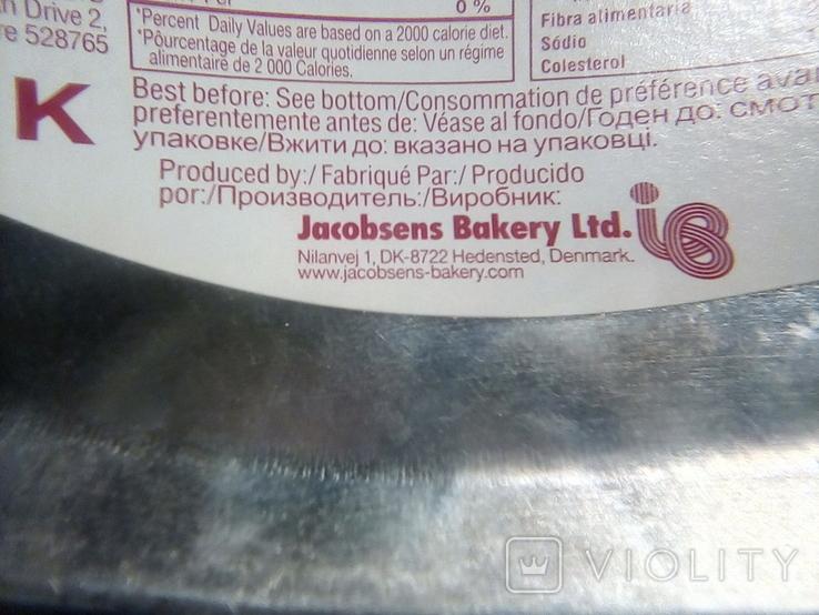 "Коробка жестяная печенье ""Tall Ships""Jacobsens Bakery Ltd. Denmark, фото №9"