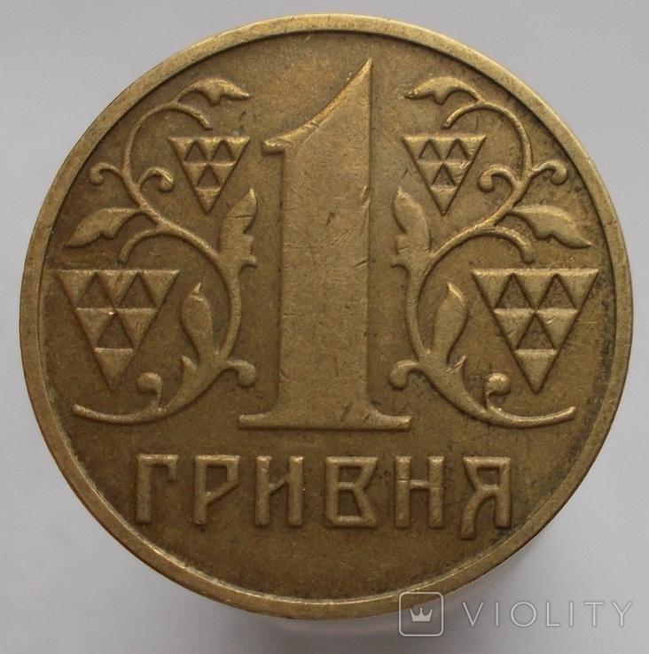 1 грн. 2001 г. два раскола на аверсе., фото №5