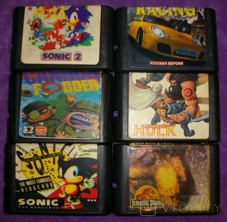 Картридж Sega 6 шт., фото №2