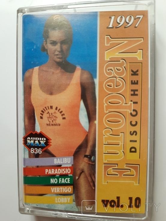 Аудиокассета.  European discothek. 1997. Сборник, фото №2