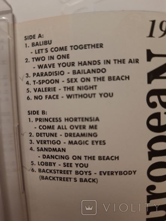 Аудиокассета.  European discothek. 1997. Сборник, фото №3
