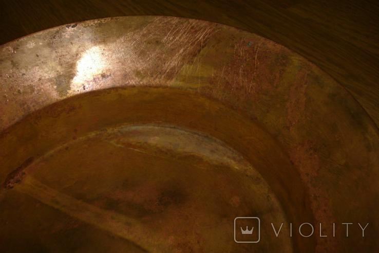 Латунная сковородка (таз), фото №6
