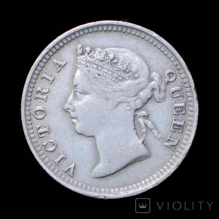 10 Центів / Центов 1886, Маврикій / Маврикий, фото №3
