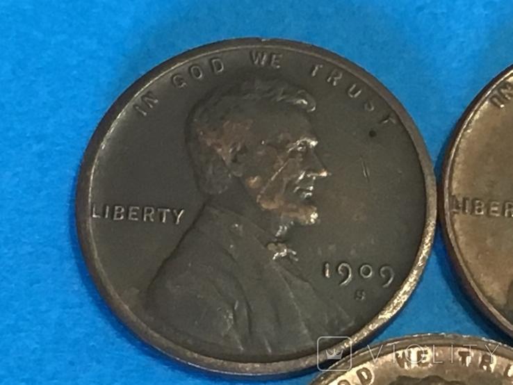 1 цент сша 1909 S VDB, 1931 S и 1922 без буквы D. Копия, фото №3