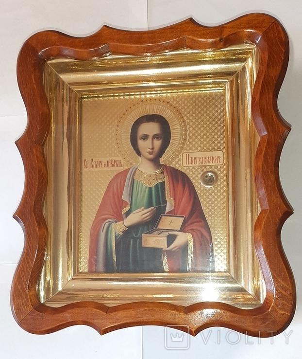 Икона св. Пантелеймона, фото №2