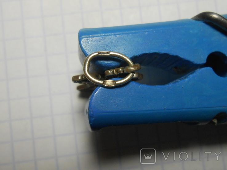 Крестик нательный Серебро 925 Вес - 1,62 грамм, фото №6