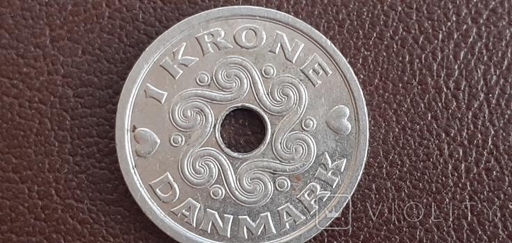1 корона Данія, фото №3
