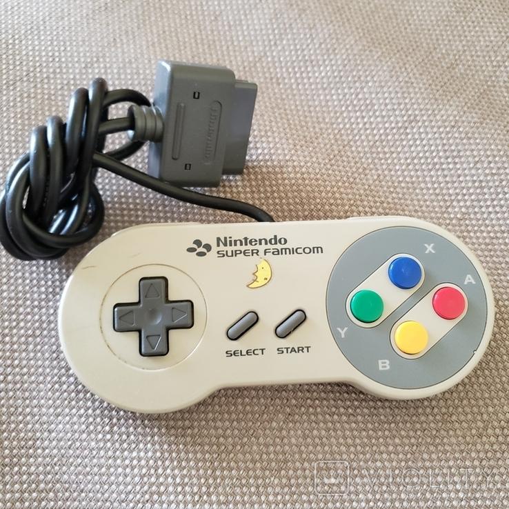 Оригінальний Геймпад (Nintendo Super Famicom), фото №2