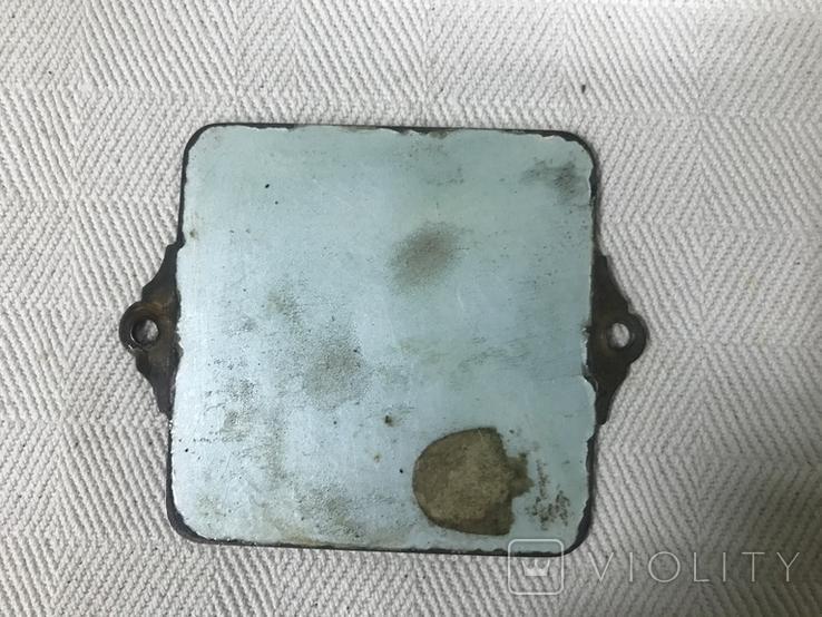 Старая икона с эмалью, фото №5