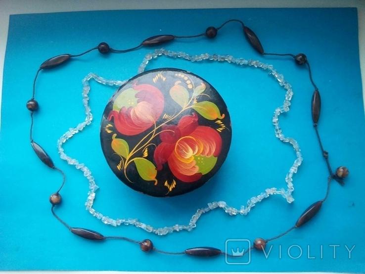 Шкатулка с бусами., фото №2