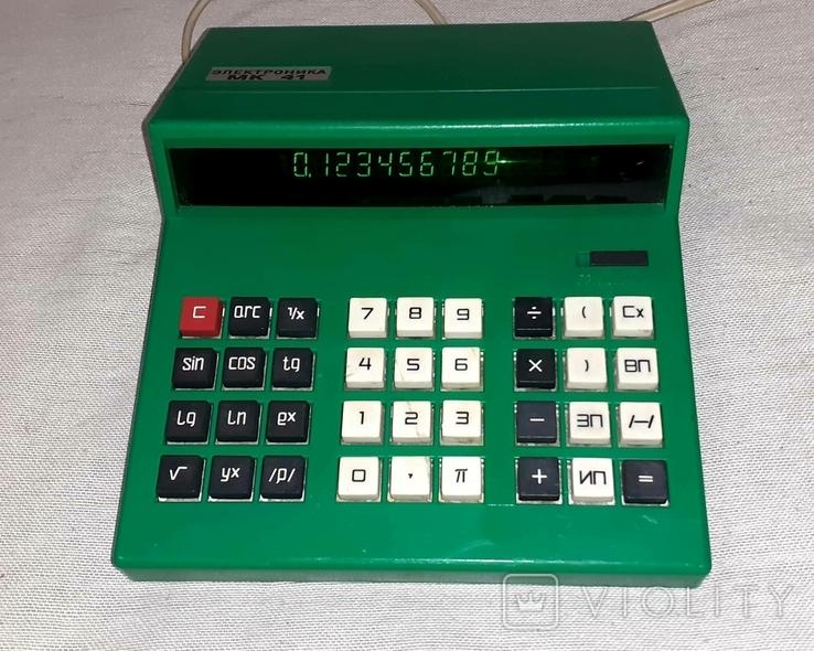 Калькулятор Электроника МК 41, фото №2
