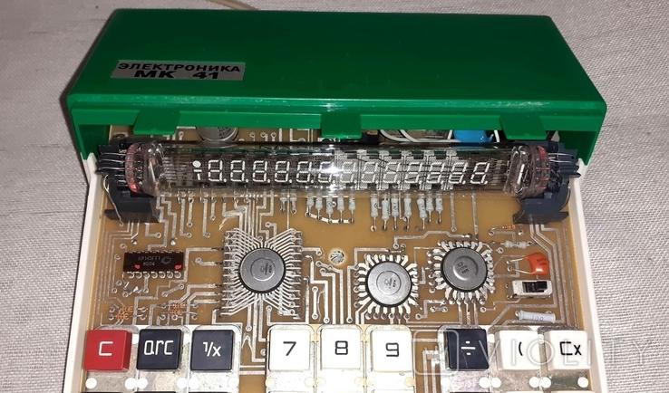 Калькулятор Электроника МК 41, фото №12