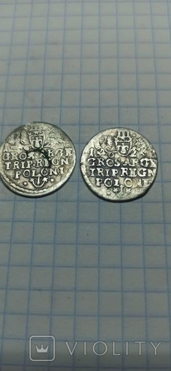 3 гроша Сигизмунд III Ваза, фото №3