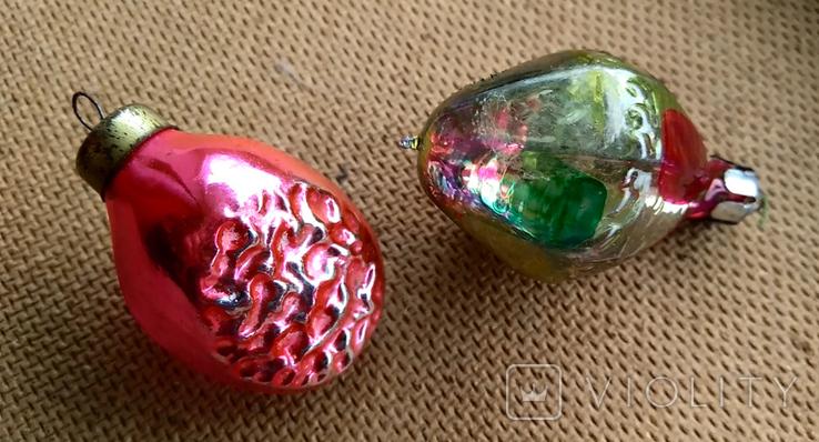 Пара ёлочных игрушек, фото №2
