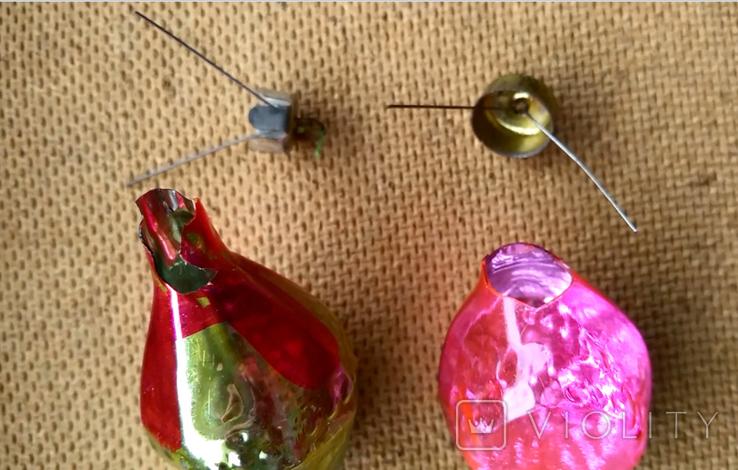 Пара ёлочных игрушек, фото №6
