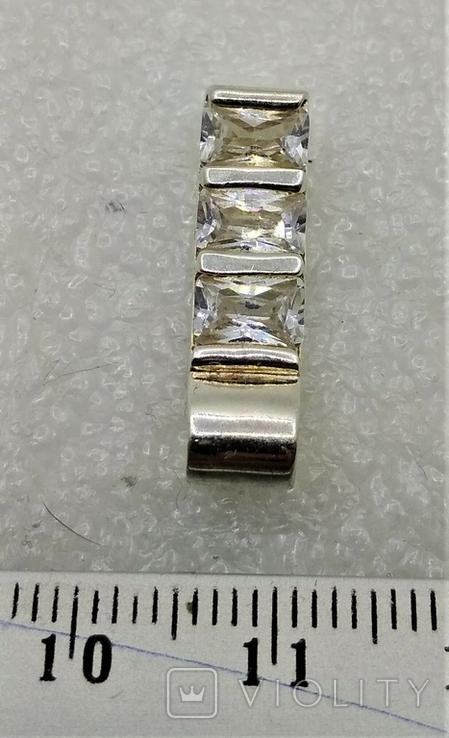 Кулон Серебро 925 Камни, фото №4