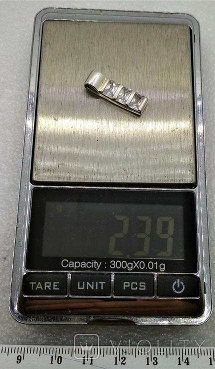 Кулон Серебро 925 Камни, фото №9