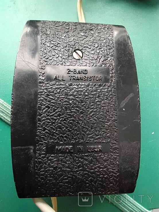 Малогабаритный Радиоприёмник Микрон 1967 год, фото №8